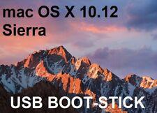 mac OS X 10.12 Sierra USB Boot Stick Apple Installation Update Recovery+Rechnung