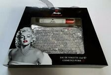 Marilyn Monroe Bombshell EDT 12ml  & Cosmetic Purse Boxed New