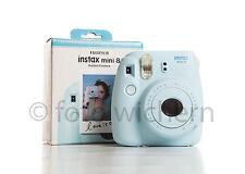 FUJIFILM Fuji Instax Mini 8 blau Set inkl. 10 Filme für 100 Fotos  NEUWARE