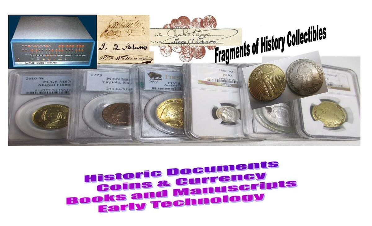 Fragments Of History Collectibles