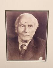 """Mark Reuben """"Vintage Collection"""" Matted Sepia Photo Carl Jung 10½"""" x 14"""""""