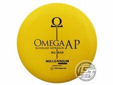 New Millennium Standard Omega Big Bead 166g Yellow Black Stamp Putter Golf Disc