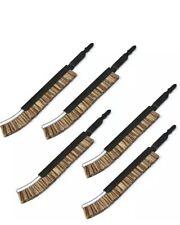 5 x Piranha X82016 Bristle Polishing Brushes for 'T' Shank Jigsaws