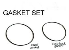 Bezel + Caseback Gasket Set For Seiko 7S36-04N0 SNZH53 SNZH57