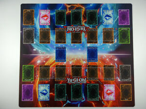 Yu-Gi-Oh! 2-Player Master Rule 4 Link Zones custom Playmat TCG Mat New Design