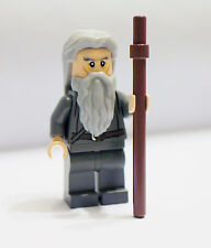 New loose LEGO LOTR Lord of The Rings Gandalf w/ long hair & staff