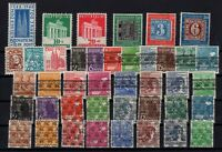 C137550/ WEST GERMANY – YEARS 1948 - 1949 MINT MH SEMI MODERN LOT – CV 135 $