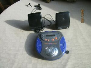 portable cd player from before iPod days 1999 and still works with SONY speakers