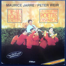 Rare! Maurice Jarre DEAD POET'S SOCIETY soundtrack LP Year of Living Dangerously