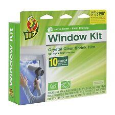 Duck Brand 281506 Indoor 10-Window Shrink Film Insulator Kit 62-Inch x 420-Inch