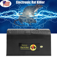 Electronic Mice Rat Killer Rodent Repeller Electric Trap Zapper 6000-8000V US