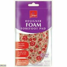 Foam Insoles Forefoot Ball Foot Pain Relief Support Shoes FLOWER Pattern UK SALE