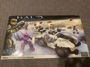Mega Bloks Halo UNSC Arctic Wolverine Set #96852 Damaged Box