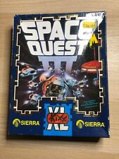 Vintage Rare Amiga Game - Space Quest 3 Boxed 4 Disks.