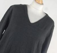 Alexandra Black Cotton Blend Womens Jumper Size XL (Regular)