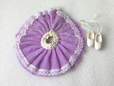 Vintage Sindy Doll Purple Tutu skirt and Ballet shoes