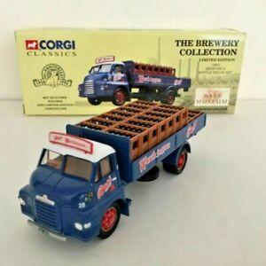 CORGI 19601 BEDFORD S BOTTLE TRUCK SET BASS WORTHINGTON LIMITED BOXED MINT