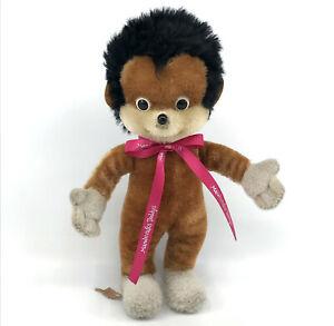 Schuco Stops Hedgehog 25cm 10in Mohair Plush 1967 Bigo Bello Fix Foxi Tag Vtg
