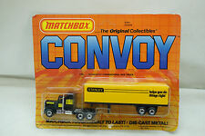 VINTAGE MATCHBOX TRUCK CONVOY STANLEY TOOLS TRACTOR TRAILER CY9 050209 MIP