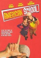 American School (2000) DVD Nuovo Sigillato Raro