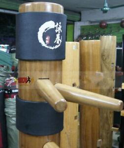 2x Wing Chun Kung Fu Pad Ip Man Wooden Dummy Punch Head Wing Tsun Protect Pad