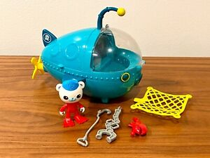 Octonauts Gup A Submarine Vehicle w/ Barnacles GREAT SHAPE COMPLETE SET, DEAL!!