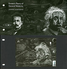 Jersey 2016 MNH Einstein Theory General Relativity NY2016 1v MS Pres Pack Stamps