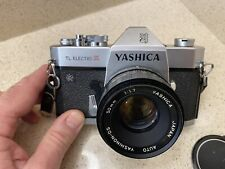 yashica tl electro x Fitted With A 50mm Beautiful Lens . Vintage From The 70's