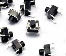 100pcs Micro switch push button 6x6x6mm 6 * 6 * 6 mm NEW A1