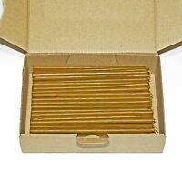 780g. (ca. 200 St.) Qualität Bienenwachs Kerzen für Zuhause und Kirche L: 16 cm