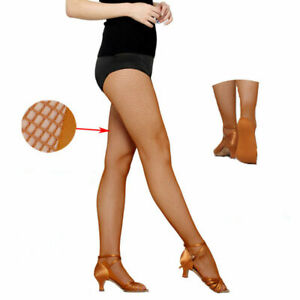 High Quality Women Professional Fishnet Footpad Without Stockings Dance Elastic