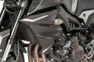 Puig Radiator Cheeks Matte Black Yamaha MT-09 SP 2018>2020