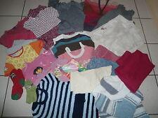 Lot vêtements fille de marques  6-9 ans 32 pièces