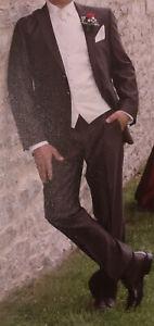 Hochzeitsanzug von Wilvorst Gr. 46 braun