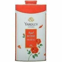 Yardley London Royal Red Roses Perfumed Talc Talcum Powder 100g  250g