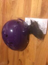 Triple Eight Brainsaver Rubber Helmet Purple Size L/Xl Bnwt Bnib