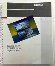 HP 1670G Series Logic Analyzers Training Guide P/N E2433-97036