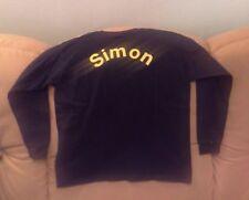 Langarm Longarm Shirt, schwarz, Gr. 128, NUR FÜR SIMON's !!! Fruit of the loom