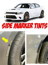 DODGE CHARGER (2015-2020) PRECUT DARK SMOKE SIDE MARKER TINT REAR AND FRONT