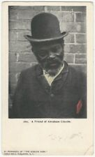 1900s African-American Postcard - Friend of Abraham Lincoln Private Mailing Card