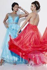 Studio 17 12503 Turquoise Gala Prom Gown Dress sz 8 NWT FLASH SALE!