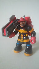 FIGURINE RESCUE HEROES - POMPIER BILLY BLAZES FIRE FIGHTER - FISHER PRICE 1997