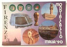 Cartolina Firenze Mondialcalcio Italia 90