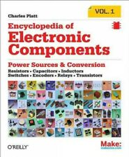 Encyclopedia of Electronic Components, Paperback by Platt, Charles, Acceptabl.