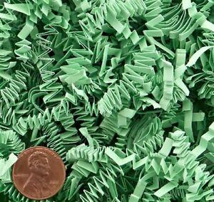 Mint Green Crinkle Cut Paper Shred Gift Basket Paper Grass Filler 4, 8 or 16 oz