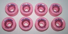 New Pink Std Impact Glitter 57Mm 50D Competition Roller Skate Wheels