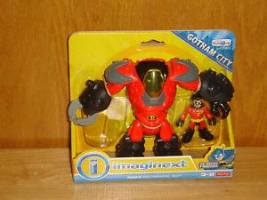 Imaginext Robin Mechanical Suit Figure Set -- DC Super Friends Batman - New