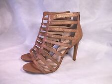 Vince Camuto Kamella Leather Strappy Open-Toe High Heeled Sandals Size 10 M