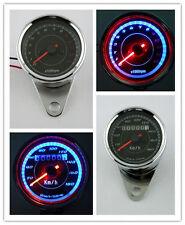 Motorcycle Odometer Speedometer Tachometer Speedo Meter LED 4 Honda Cafe Racer