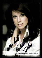 Isabella Schmid Autogrammkarte Original Signiert # BC 60953